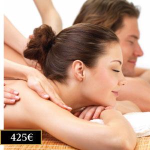 bono 5 masajes en pareja Madrid