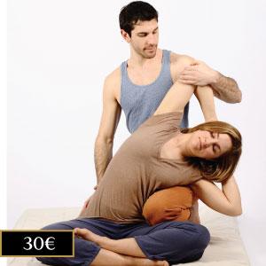 masaje thai exprés en Madrid