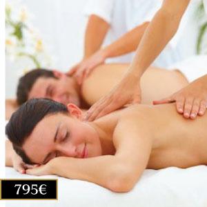 bono 10 masajes en pareja Madrid