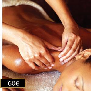 masaje tailandés de aceites esenciales en Madrid