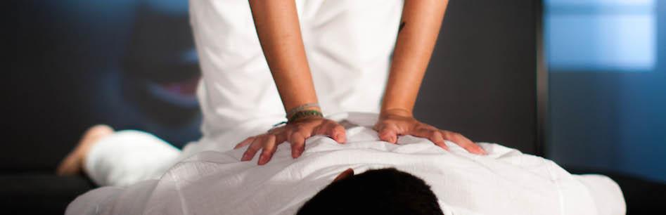 masaje tailandés tradicional en pareja Madrid