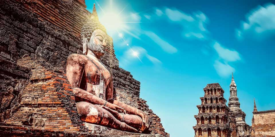 Mysterious temples in Thailand