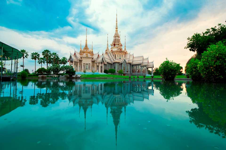Precioso templo en Tailandia