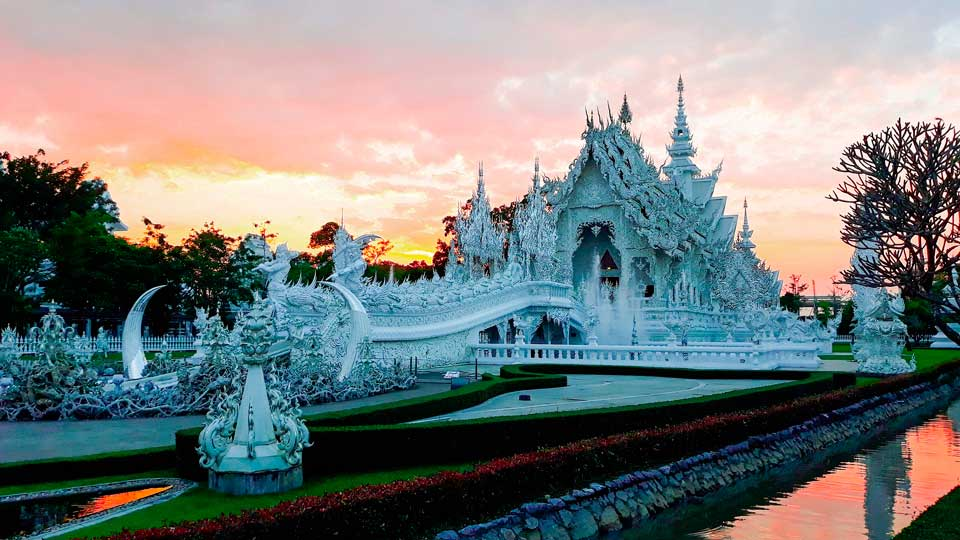 White Temple in Chiang Rai Thailand